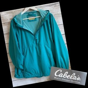 Cabela's Lightweight Hooded Pullover Jacket